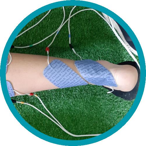 Usado para tratar la atrofia muscular derivada por algún tipo de lesión musculoesquelética que afecte a huesos, músculos, ligamentos o tendones.